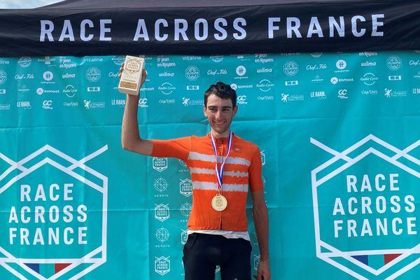 Clément Clisson remporte ce jeudi 20 août la 3e édition de la Race Across France.