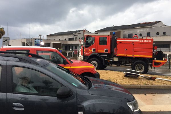 En Haute-Corse, les orages ont généré 90 interventions des sapeurs-pompiers.