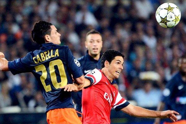 Montpellier - premier match du MHSC en Ligue des champions - défaite 1 à 2 contre Arsenal - 18 septembre 2012