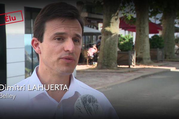 Dimitri Lahuerta élu maire de Belley