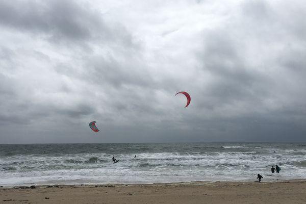 Kite-surf à la Govelle