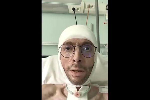 Au centre médical de l'Argentière, à Aveize : un patient hors Covid, hospitalisé pour de graves brûlures, lance un appel ... pour Géraud, le confinement n'a que trop duré !