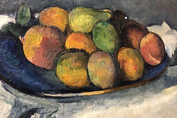 Paul Cézanne (1839-1906) assiette de pêches vers 1879-1880, huile sur toile