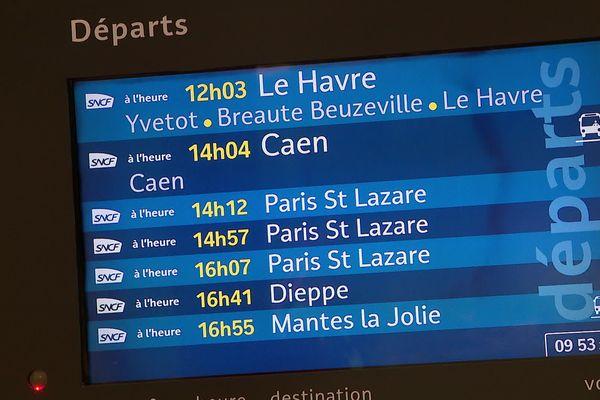 """4 trains sur 10 sont prévus ce lundi 16 décembre, le trafic reste """"très perturbé"""" pour ce 12ème jour de grève."""