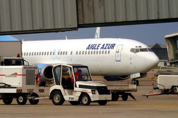 Saint-Exupéry : les appareils d'Aigle Azur seront cloués au sol jusqu'à l'arrivée d'une éventuel repreneur.