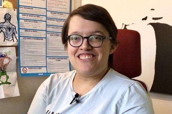 Éloïse Rabilloud, salariée en situation de handicap