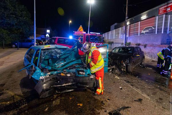 L'accident a eu lieu dans le 13e arrondissement de Marseille.