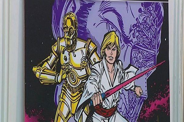 Exposition Star Wars au 14e festival de la BD d'Ajaccio