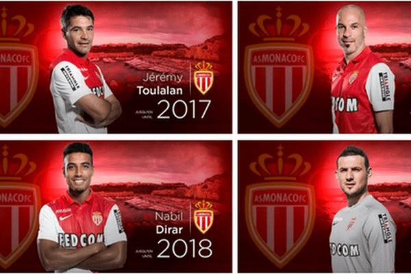 Prolongations pour Toulalan, Subasic, Dirar et Raggi !
