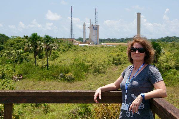 """Marie-Ange Sanguy est spécialiste de l'Espace et rédactrice en chef du magazine """"Espace et Exploration"""", dédié à l'aventure spatiale."""
