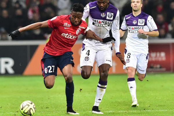 Divock Origi, le 14 décembre 2014 au Stade Pierre Mauroy