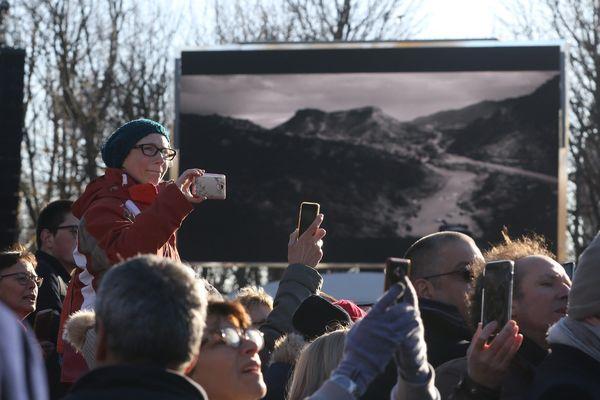 Cérémonie d'hommage de Johnny Hallyday sur les Champs-Elysées