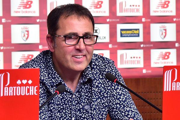 L'entraîneur intérimaire du LOSC, Patrick Collot, obtient une petite satisfaction avec un point rapporté de Nantes.