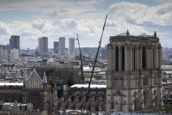 Les autorités ont découvert des résidus de plomb dans les jardins proches de Notre-Dame de Paris, après l'incendie du 15 avril.