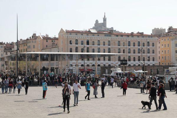 A Marseille, la fréquentation touristique a explosé depuis le premier déconfinement, l'été dernier.