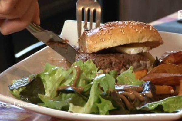 Le burger à la française de Romain Crouet à Tours (37)