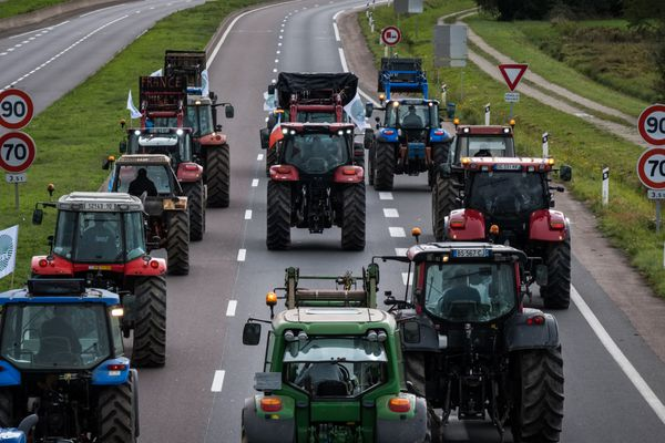 Une manifestation d'agriculteurs à Vesoul, en 2019 - Photo d'illustration