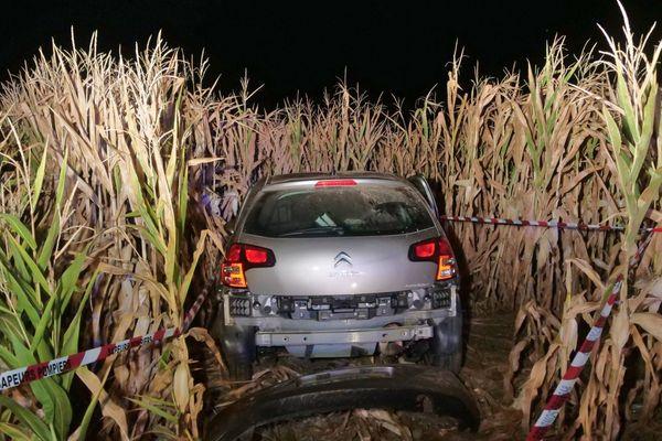 Le véhicule accidenté est une Citroën C3
