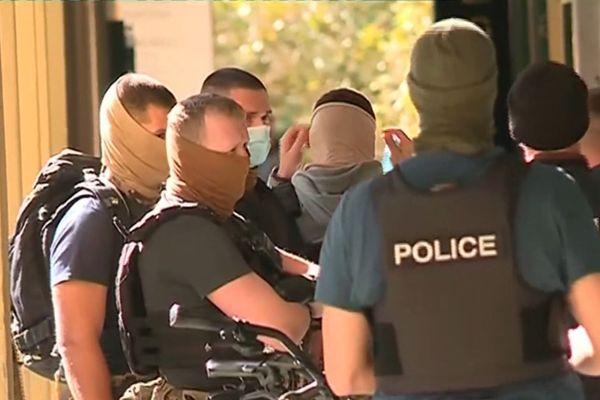 Tentative d'assassinat de Guy Orsoni, série d'arrestations à Ajaccio le 28 septembre 2020.