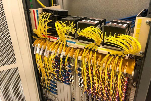 Au cœur du réseau fibre optique de l'agglomération rouennaise.
