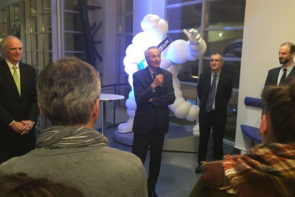 """Interrogé mercredi soir lors d'une cérémonie fêtant les 10 ans du musée """"L'Aventure Michelin"""" à Clermont-Ferrand, Jean-Dominique Senardn'a pas fait de commentaire."""