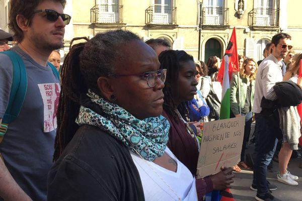 La réforme du baccalauréat mobilisait contre elle quelques enseignants ce lundi matin à Nantes
