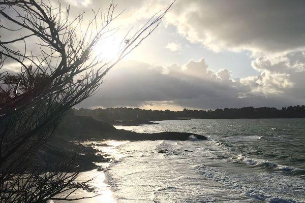 Pointe de la Roche Pelée a Dinard