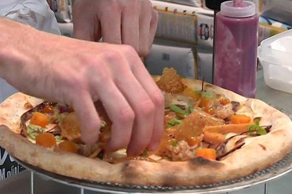 Une étape du 15èmechampionnatdeFrance de la pizza passait par Metz (Moselle) lundi 17 novembre