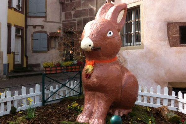 Lapin de Pâques à Wasselonne