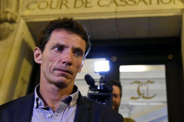 Paris 18 juin 2015. Raphaël Maillant lors de son 3e recours en révision de son procès où il a été condamné en 1997 à 17 années de réclusion pour le meurtre de Valérie Bechtel.