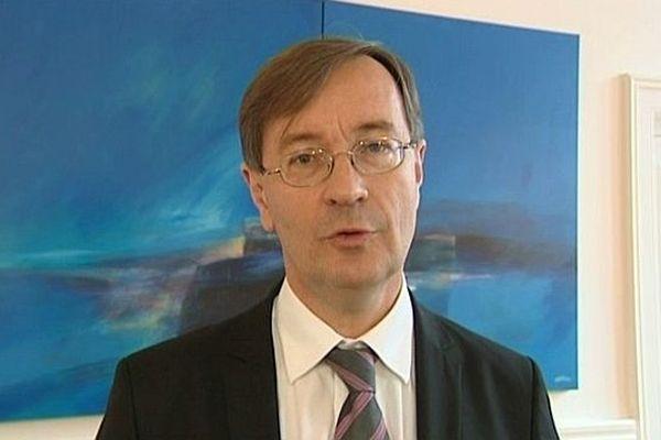 Jean-Michel Houllegatte, maire socialiste de Cherbourg-Octeville (archives)