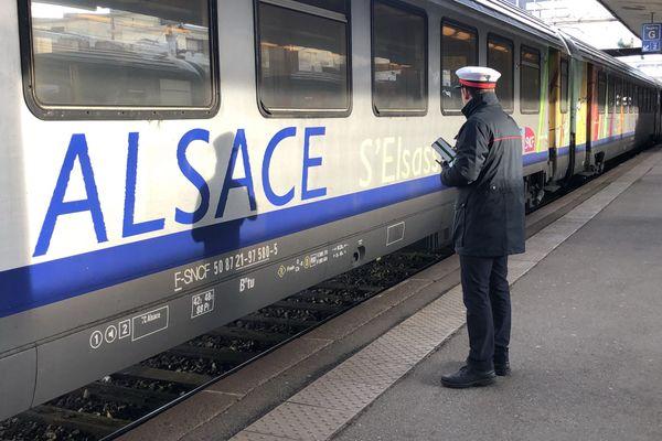 Plusieurs TER entre Strasbourg et Sélestat ont été annulés.