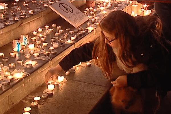 Lyon rend hommage aux victimes des attentats de Paris- Le 17/11/2015