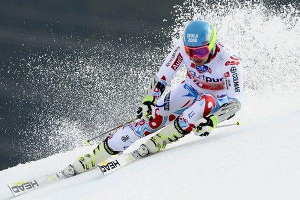 Mathieu Faivre devient champion de France de géant ce vendredi à Méribel.