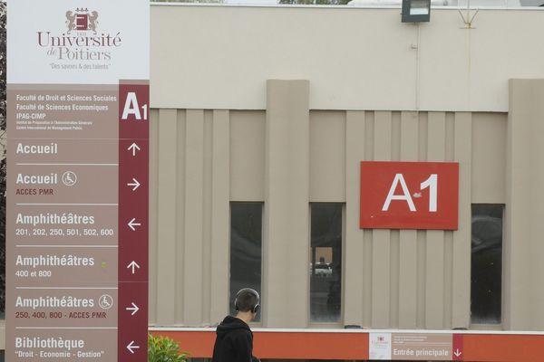 L'Université de Poitiers (photo d'illustration)