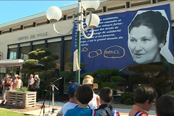 L'hommage à Simone Veil