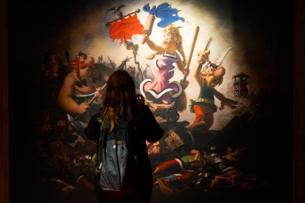 Astérix l'Européen, une exposition à découvrir au château de Malbrouck (Moselle).