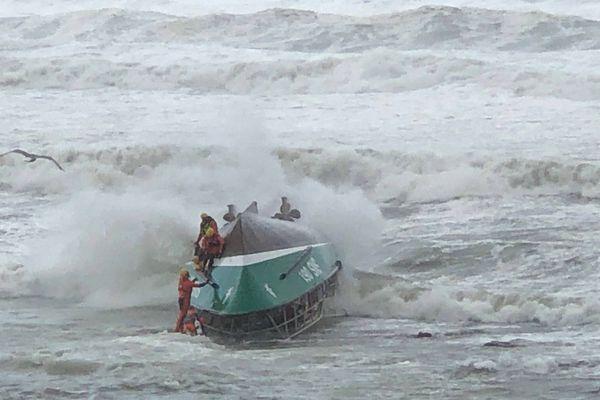 trois sauveteurs sont morts après le chavirage du canot Jack Morrisseau de la SNSM, le  7 juin 2019
