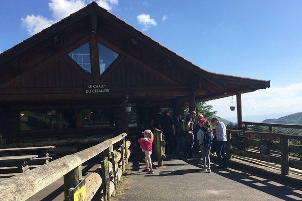 Les visiteurs étaient deux fois plus nombreux qu'à l'accoutumée, ce mardi 8 mai, au Parc animalier d'Auvergne.