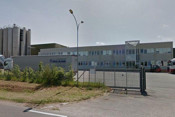 L'usine de Rehau Tube, à La-Chapelle-Saint-Ursin.