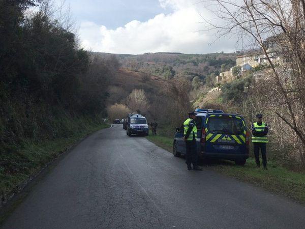 10/02/2017 - Les gendarmes quadrillent la Casinca et les environs, à la recherche de Jennifer.