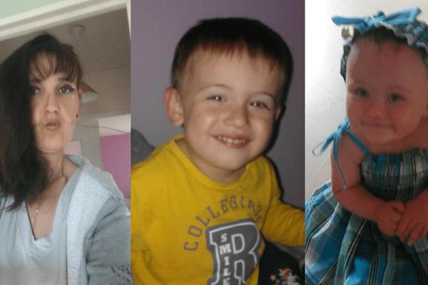 La mère de famille et ses deux enfants n'avaient plus donné signe de vie depuis le 4 août 2017.