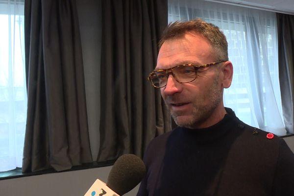 Frédéric Mabileau, au micro de France3 Centre-Val de Loire, en février dernier