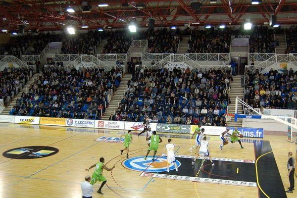 La salle Coubertin de Châlons-en-Champagne est l'un des lieux mythiques du basket français.