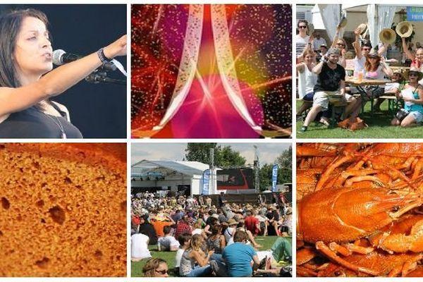 La 2e et dernière journée du festival des Francos Gourmandes à Tournus a fait le plein samedi 15 juin 2014