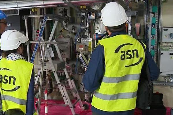 Une inspection de l'ASN, Autorité de Sûreté Nucléaire, sur un des sites du Tricastin - 29/9/17