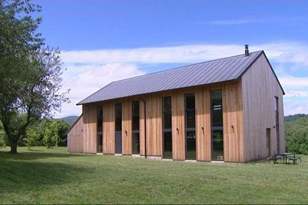 Une des maisons d'architectes à visiter en Bourgogne.