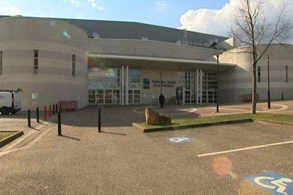 Le Palais des sports Jean Weille de Gentilly à Nancy.