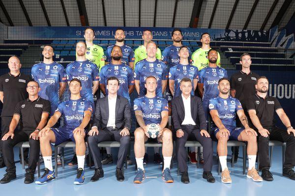 Montpellier - l'équipe du Montpellier handball 2019/2020 - 22 juillet 2019.