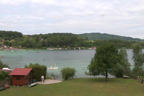 Lac de Paladru en Isère